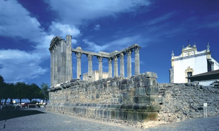 Alentejo Evora Templo romano, fot. Jose Manuel