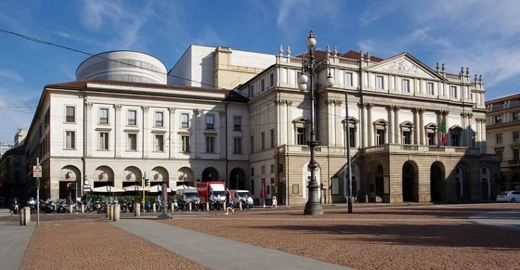 Teatr La Scala, Mediolan, Autor Jakub Hałun