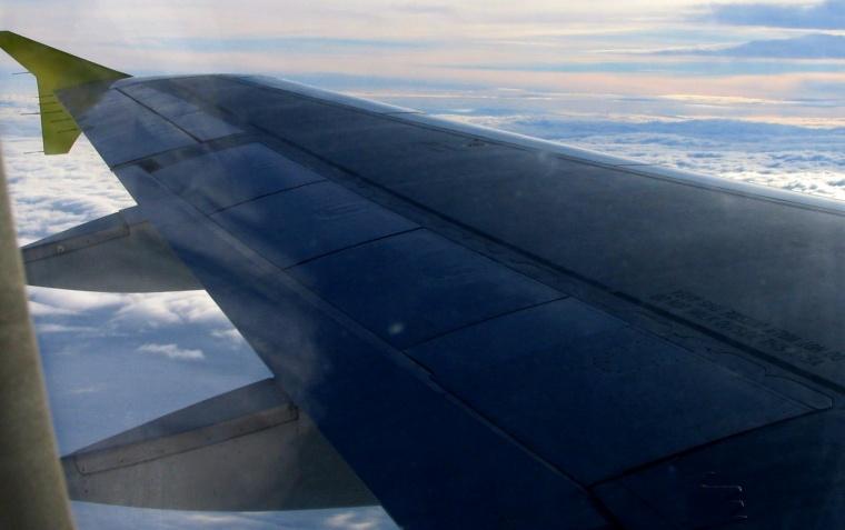 Lot samolotem, Podróże