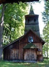 Kościół św. Katarzyny z XVI w. w Sromowcach Niżnych