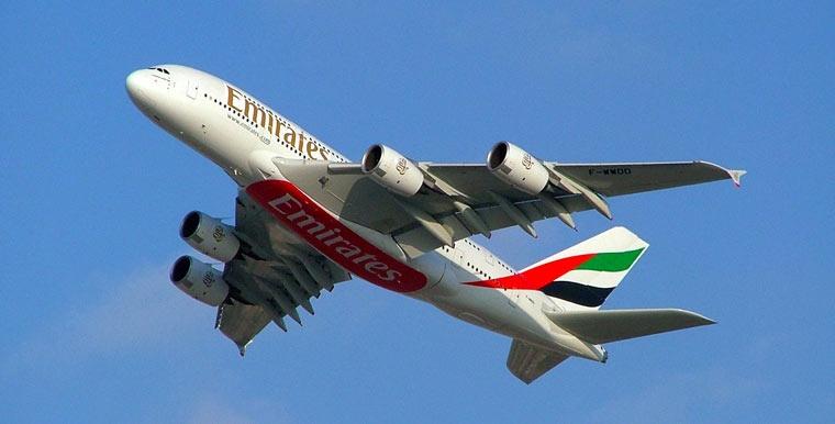 Samolot linii Emirates