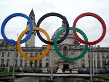 Kręgi olimpijskie, Olimpiada w Londynie