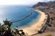 Plaża Teresitas, piasek sprowadzony był z pustyni Sahary