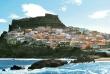 Miejscowość Castelsardo na Wyspie Sardynia