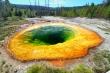 Glory Pool w Parku Narodowym Yellowstone w Wyoming