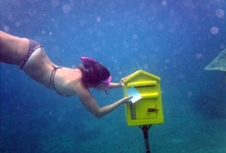 Podwodny urząd pocztowy