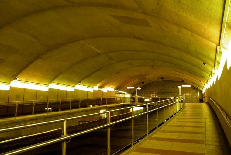 Tunele kompleksu w Montrealu