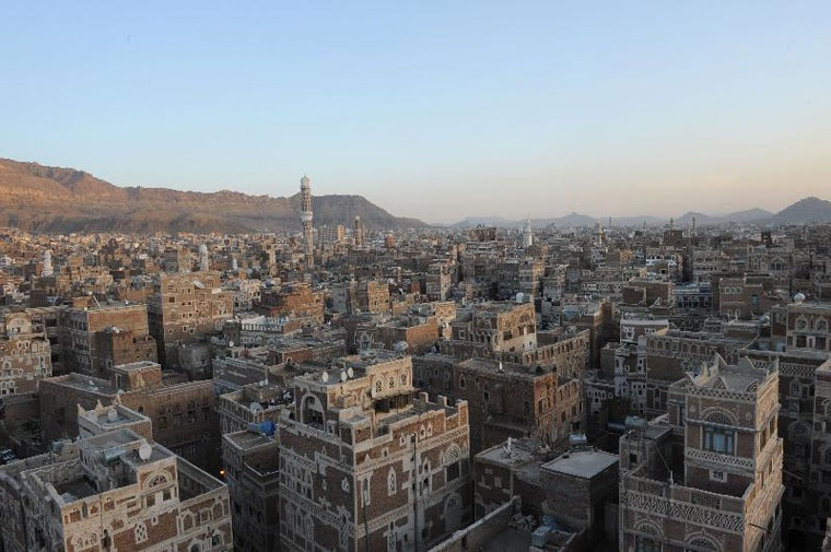 Sanaa, stary miasto, Jemen