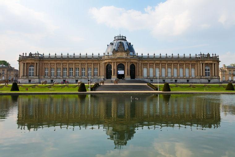 Królewskie muzeum Afryki Środkowej w Tervuren, niedaleko Brukseli w Belgii