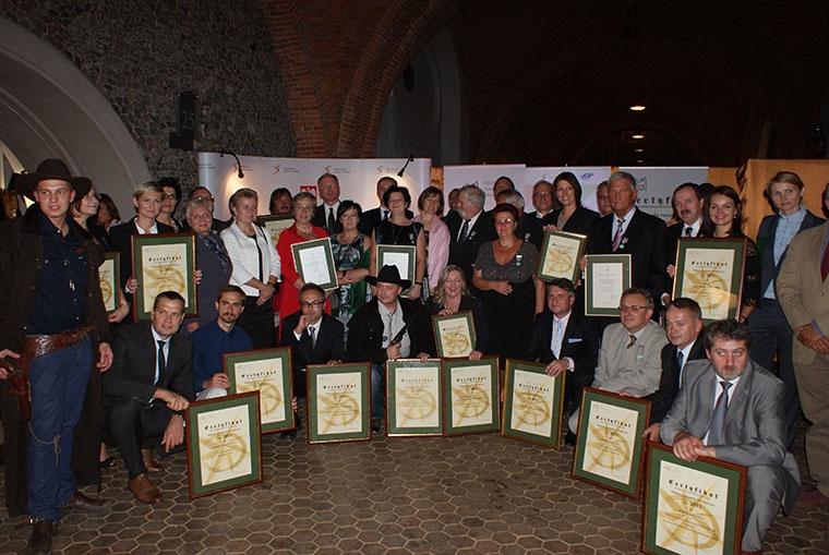 Certyfikaty polskiej organizacji turystycznej 2012 - Rozdanie