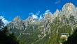 Majestatyczne Pale di San Martino, Dolomity, Włochy