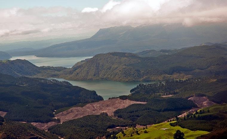 Jeziora Okareka i Tarawera, Nowa Zelandia