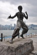 Statua Bruce Lee w Hongkongu
