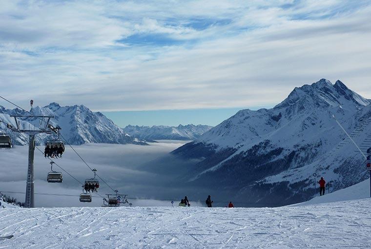 St. Anton, Arlberg, Austria