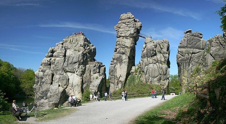 Externsteine, Niemcy