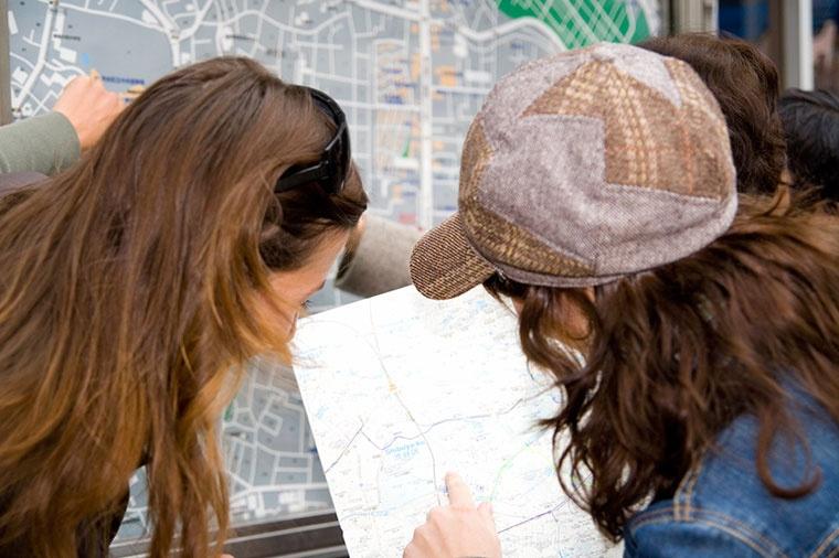 Questing - mapa