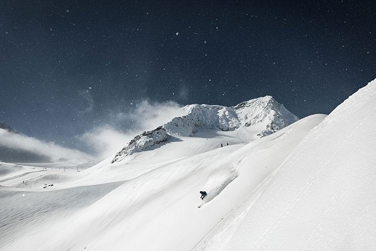 Lodowiec Stubai, Tyrol, Austria