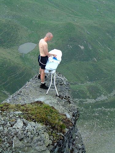 Ekstremalne prasowanie /extreme ironing/
