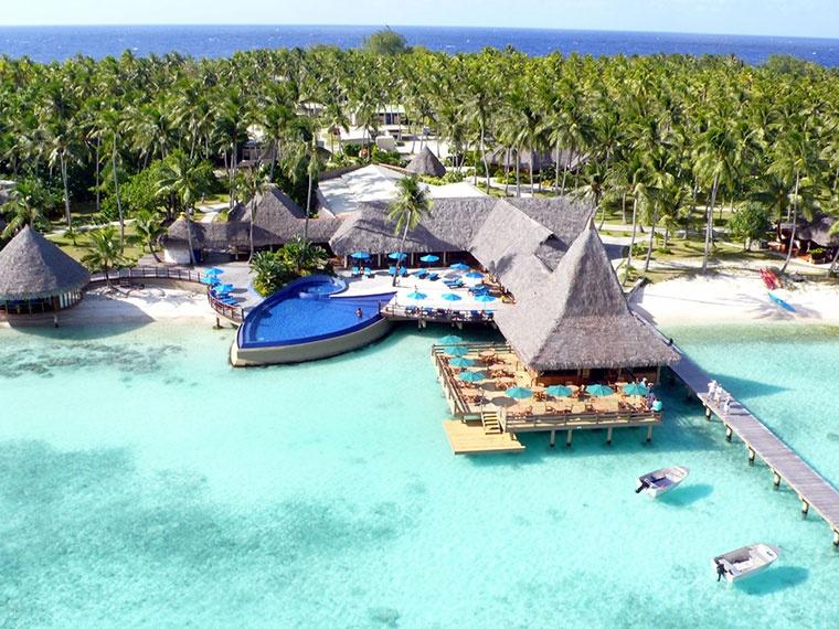 Hotel Kia Ora, Wyspa Rangiroa, Polinezja Francuska