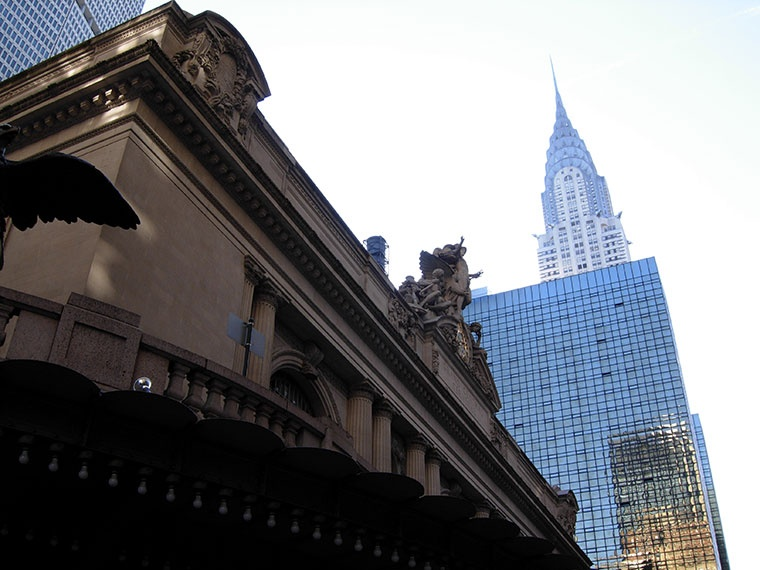 Grand Central Terminal i Chrysler Building