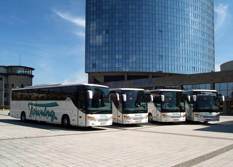 Deutsche Touring, Podróże
