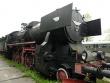 Parowóz Ty42-19 z lokomotywowni w Zebrzydowicach
