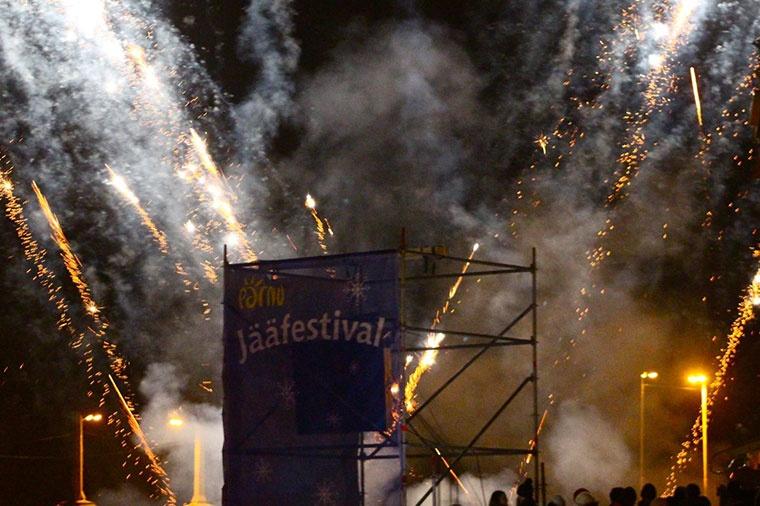 Ice Festival w Parnawie