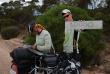 Joachim Czerniak i towarzyszące mu osoby pokonali w Australii 10 tysięcy kilometrów na rowerach