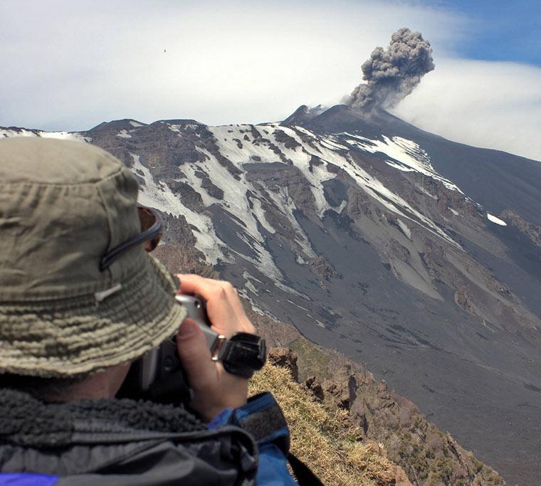 Etna na Sycylii, Włochy