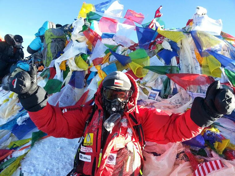 "Pomysłodawca ""Everest 60 lat Expedition"" na szczycie Mount Everestu!"