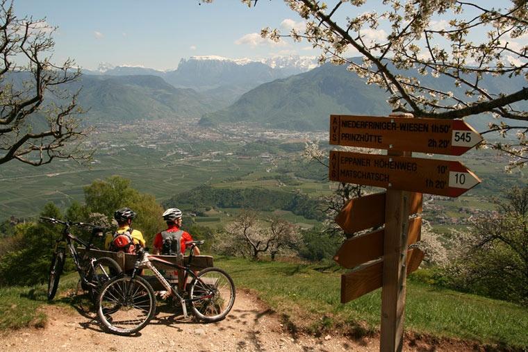 Rowerem przez Południowy Tyrol