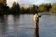Wędkarz na rybach