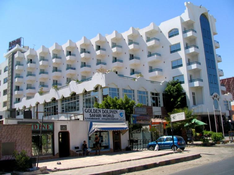Hotel, w którym mieszkaliśmy - Roma - Wycieczka objazdowa - Egipt
