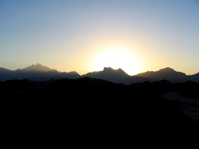 Zachód słońca - Wycieczka objazdowa - Egipt