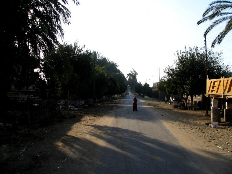 Środkowy egipt, ogromna bieda - Wycieczka objazdowa - Egipt