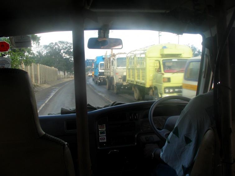 W drodze na safari - Mombasa - Kenia