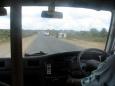 Wypadek na drodze - Mombasa - Kenia