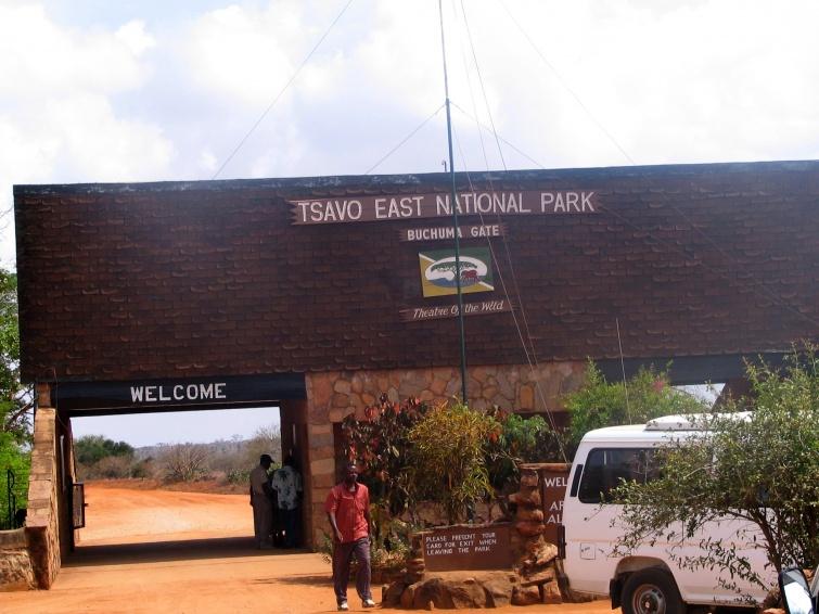 Tsavo National Park - Mombasa - Kenia