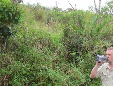 na granicy - Triple Point - Rorai - Wenezuela - 1397