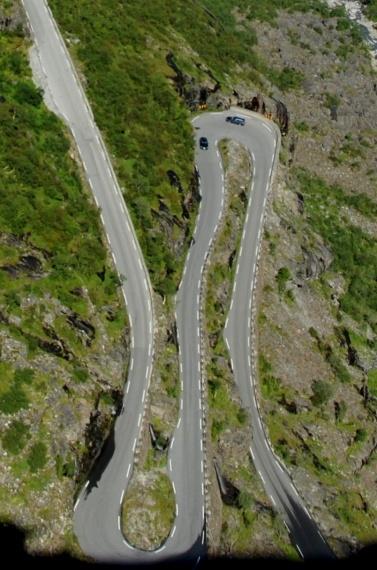 Droga Trolli - Norwegia