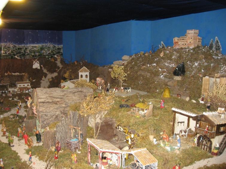 Świąteczna Szopka - Gradara - Włochy