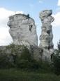 Dwie Siostry: Sfinks i Lalka - Ogrodzieniec - Polska