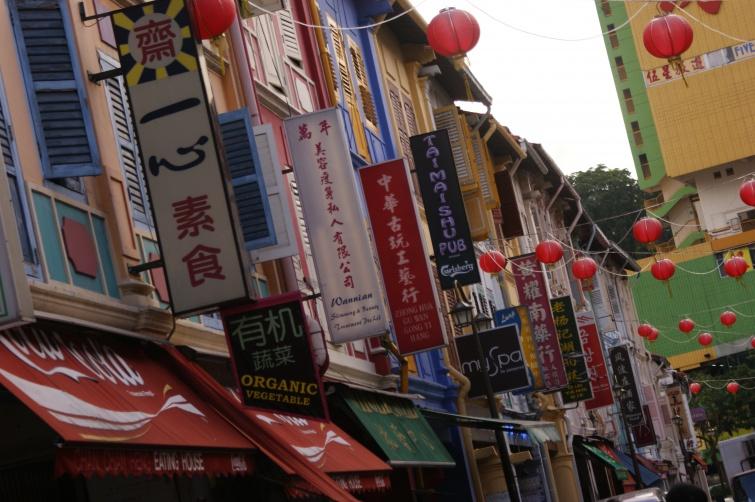 China Town w Singapurze - Singapur - Singapur