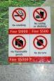 durian, kary, Singapur, zakazy - Singapur miasto zakazów i wysokich kar - Singapur - Singapur