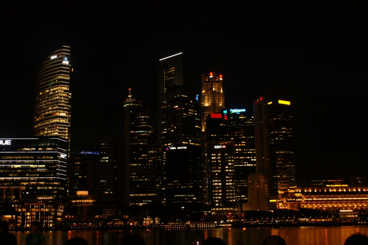 Singapur by night - Singapur - Singapur
