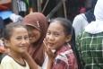 bazar, indonezja, sumatra - Indonezyjskie uśmiechy - Sumatra - Indonezja