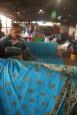 Suszenie batiku - Kota Bahru - Malezja