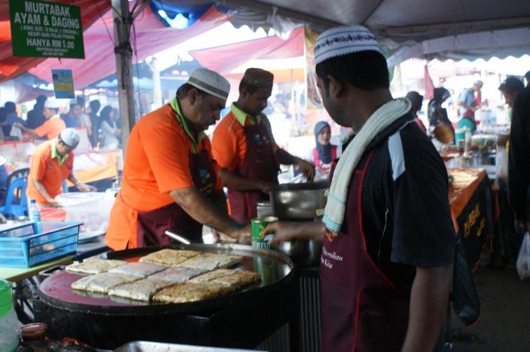 naleśniki z pikantnym farszem - Ramadan - Malezja