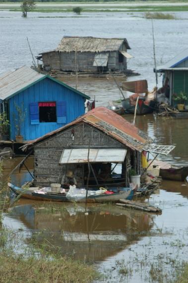 Floating Village - Kambodża