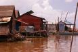 Wioska na wodzie - Floating Village - Kambodża